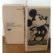 Be@rbrick 1000 Medicom Toy Vintage Version Black And White Mickey Mouse