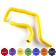 Yellow Silicone Radiator Hose Kit For Acura Integra Ls Rs Gs Se Gsr 1994-2001