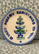 M. A. Hadley Very Merry Christmas To You Trinket Plate Coaster 4 1/2
