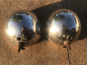 1930 1931 Model A Ford Headlight Buckets Original Pair Coupe Roadster Pickup