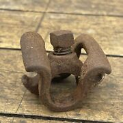 Lucky 7 Clamp Guts For Seat Post Antique Vintage Prewar 1908 Wonder Bicycle