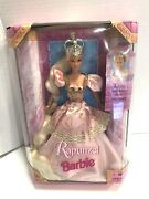 Vintage 1997 Rapunzel Barbie 17646 New In Box 12 Free Shipping