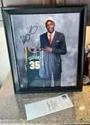 Kevin Durant Upper Deck Uda Rookie Signed Draft Day Photo Framed 02/35 Autograph