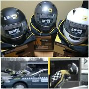 Motorcycle Full Face Helmet With Airbag Apc New Made Barcelona Spain