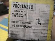 2- New Cadweld Molds Vsc1lv21c 4 Awg Conc To Pipe B-302