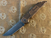 Hoback Knives Limited Edition Agency Arms Kwaiback Knife. Rassenti Hinderer.