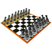 German Shorthaired Pointer Chess Set