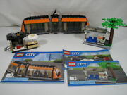 Lego City 60097 City Square Orange Tram Trolley Tram Stop And Coffee Shop