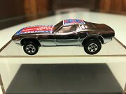 Beautiful Sttf Super Tough To Find Super Chrome Flag Roof Dixie Challenger