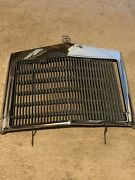 Lincoln Continental Chrome Grill Oem Ford Original 77 78 79