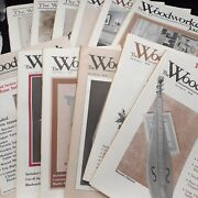 Woodworkers Journal 1984 1985 Complete 12 Issues Furniture Woodwork Wood Pattern