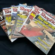 Shopnotes Magazine Lot Vol 16 Issue 96 95 91 92 94 Woodworkers Journal Vol 29 2