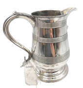 Bateman 1796 English Sterling Silver Spouted Beer Jug Pitcher Sold At Sothebyand039s