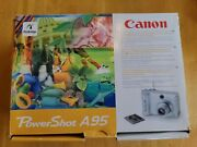 Canon Powershot A95 Used Condition For Parts Or Not Working See Description