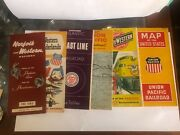 Gorgeous Set Of Timetables Norfolk, Union Pacific, North Western Coast Line