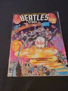 A Marvel Super Special Featuring The Beatles Story Vol 1 Issue 4 1978 Torn