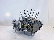 1998 And 1999 Harley Davidson Sportster 883 And 1200 Silver Crank Cases Crankcases