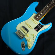 Fender American Professional Ii Stratocaster Hss Rosewood Fingerboard Miami Blue