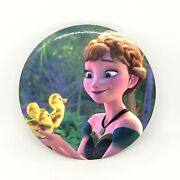 Disney Japan Store Princess Anna Frozen Pin Patches Buttons Can Badge Collection