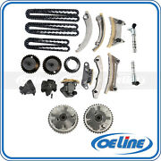 For 07-16 Gm 3.0l 3.6l Timing Chain Kit Variable Timing Sprocket W/ Solenoid