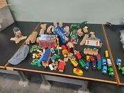 Huge Lot Of Thomas The Train Dicast Wooden Railway Tracks, Engines,cars