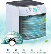 Home Innovations - Breezy Cooler Portable Fan Mini Air Conditioner
