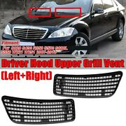 Car Engine Hood Upper Grille Grill Vent Cover Trim For Mercedes Benz W221 W251