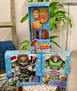 Vintage Toy Story Intergalactic Buzz Lightyear - Woody And More Action Figures