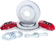 Alcon 2010+ For Ford For For F-150 360x32mm Rotors 4-piston Red Calipers Rear Br