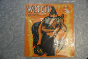 1950and039s Beistle Witch Centerpiece Halloween Decoration Sealed Free Shipping