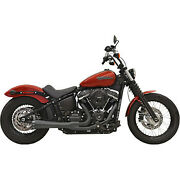 Bassani Manufacturing - 1s72rb - Road Rage 2-into-1 Exhaust System, Black With F
