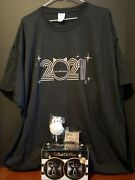 Cat Lady Box 2021 Mew Year Lot Of 4 Exclusives-tshirt Sz.3x /glasses/pen/clips
