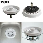 Sink Strainers Basin Dia 74mm Drainage Filters Kitchen Stainless Steel