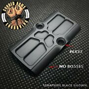 Rmr Cover Plate For Glock Slides Trijicon Holoson Swampfox Rounded/flatbottom