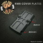 Rmr Cover Plate For Glock Slides Trijicon Holoson Swampfox Angled/bosscut