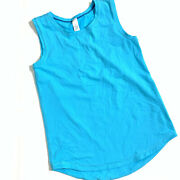 Ivivva Turquoise Blue Girls Tank Top 14 Discontinued
