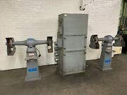 Cincinnati Dual Station Double Ended Buffer Jack Lathe And Torit Dust Collector