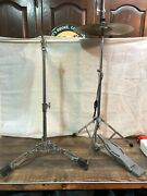 2 Stands Ludwig Spur-lok High Hat Stand 1970s Vintage. Nice Condition.