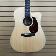 Martin Dc-13e Road Series Acoustic-electric Guitar In Natural W/softshell Case