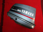 Yamaha 90 Hp 2 Stroke Outboard Hood Top Cowl Cover Base Switch