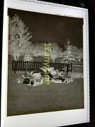 Acabe Allis-chalmers 8 X 10 Negative, Media Archive 2 Lawn And Garden Tractors