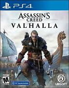 Assassins Creed Valhalla Ps4/ps5 Brand New Sealed