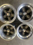 Vintage Set Of American Racing Daisy 200 Style Wheels 15x10 5x5 Chevy Truck