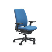 Amia Chair By Steelcase Model 4821410 Finish 5f07 Blue