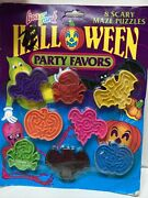 Lisa Frank Halloween 8 Scary Puzzles Party Favors
