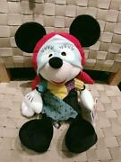 Fedex Ship Mickey Mouse In Sally Nightmare Before Christmas Costume Plush Rare