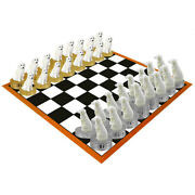 Great Pyrenees Chess Set