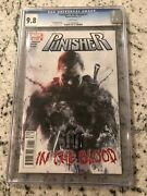 Punisher In The Blood 1 Cgc 9.8 Marvel Comic Book Graded 1st Print Remender Kb3