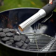 Bbq Blower For Kamado Grill Fire Up Tool Charcoal Lighter Starter Cooking Steak