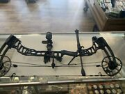 Mathews Vertix Bow Left Handed Hm Optimizer Lite King Pin And Extras In Case - Pps